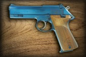 Korth Semi-Auto Plasma Coated Blue 9 mm Para